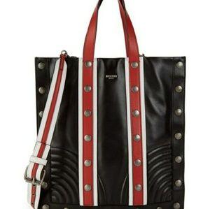 MOSCHINO Studded Leather Bag